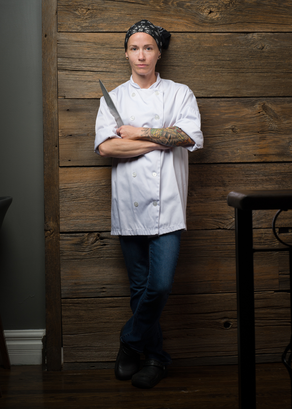 Chef de Cuisine Taryn Morris