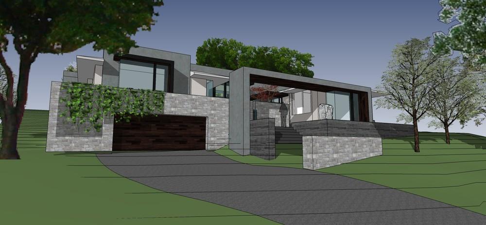 West Architecture Studio Atlanta Modern Homes Midcentury modern