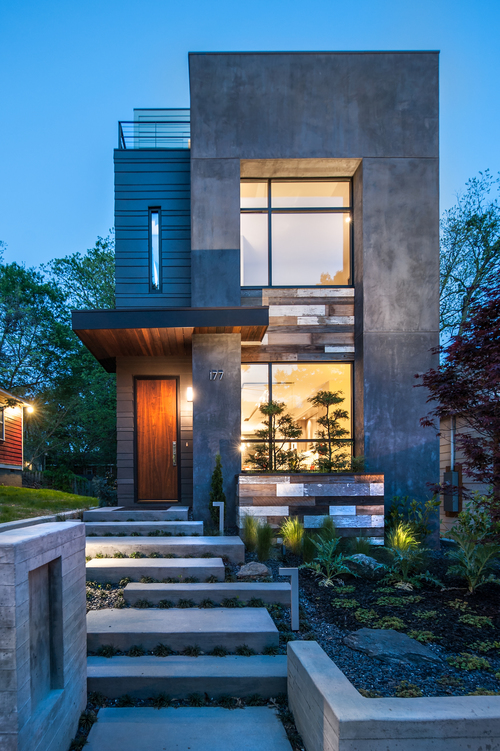 West Architecture Studio Atlanta Modern Homes Affordable Skinny