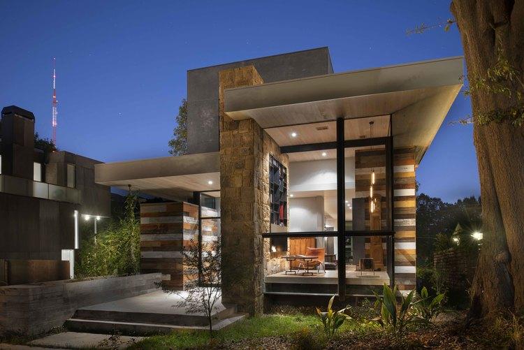 West Architecture Studio | Atlanta Modern Homes - Pyrite House ...
