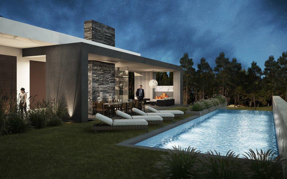 West Architecture Studio Atlanta Modern Homes onestory modern