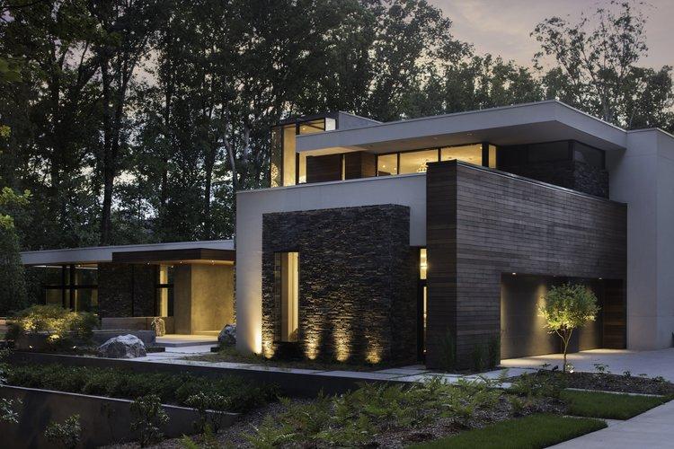 West Architecture Studio | Atlanta Modern Homes - Bridge House ...