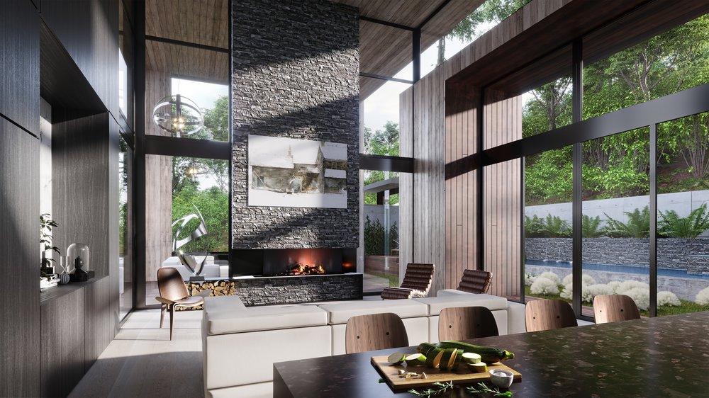 West Architecture Studio | Atlanta Modern Homes - Mountain Residence ...