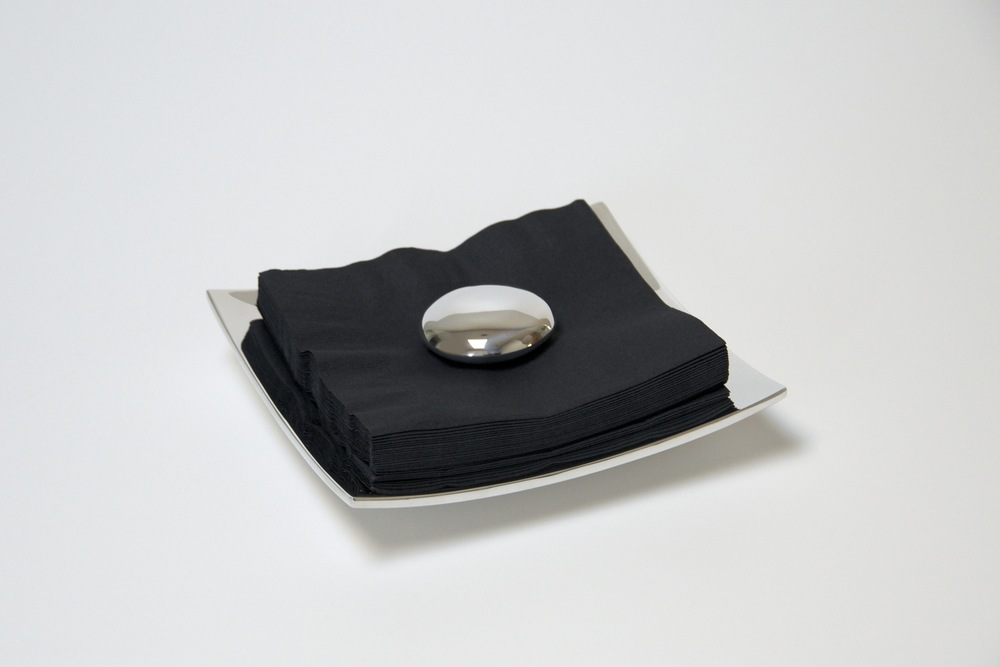 Stone Napkin Holder - Nambe 2009