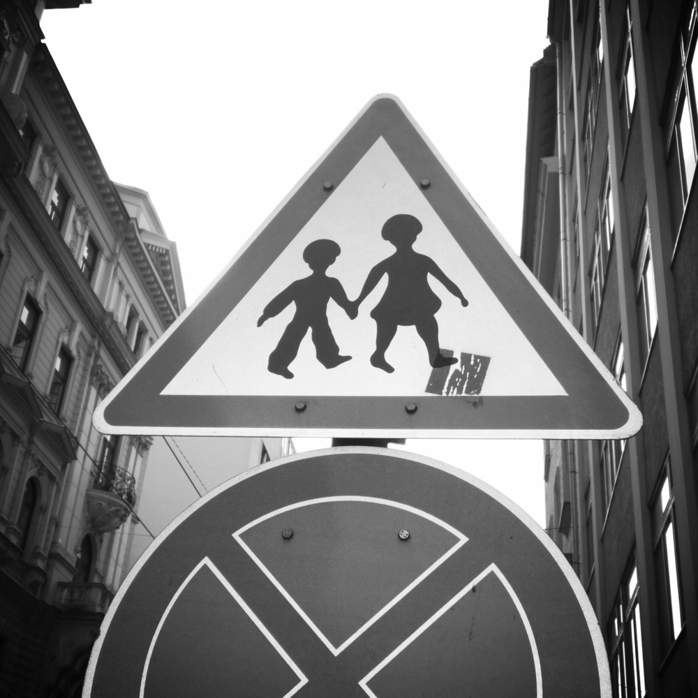 In Budapest, children with bowl cuts must hold hands.