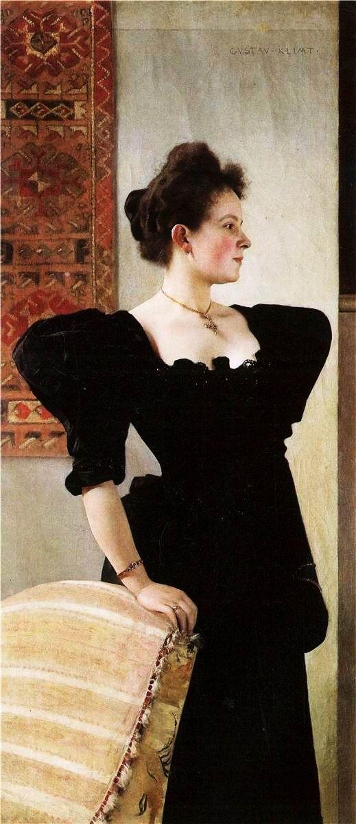 Gustav Klimt, Portrait of Marie Breunig