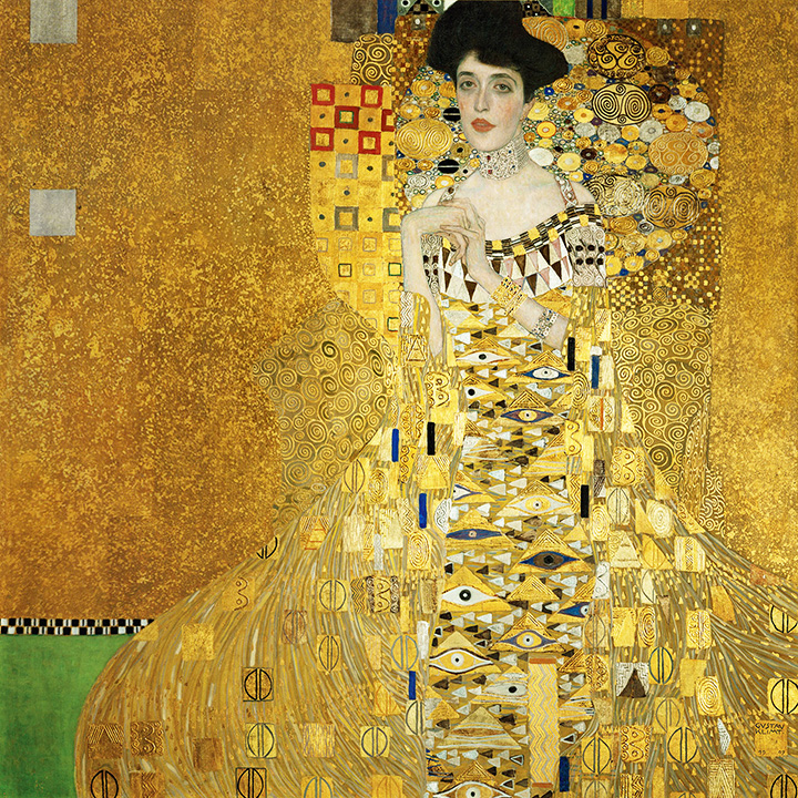 Gustav Klimt, Portrait of Adele Bloch-Bauer I