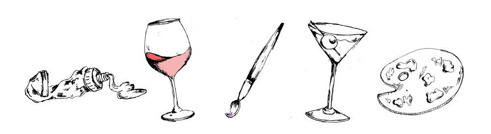 paint, sip, socialize