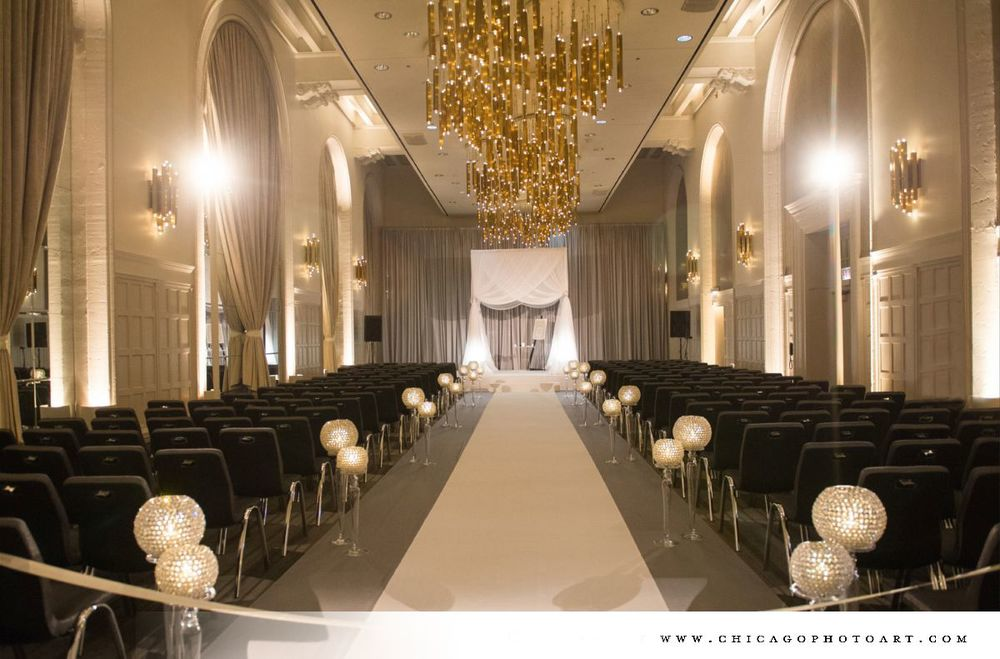 beautiful ceremony room
