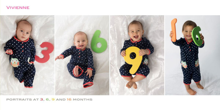 baby s first year album tricia koning photography