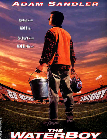 Friday August 17 - The Water Boy (1998)