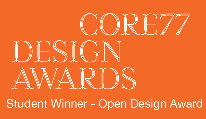 2017  –Core 77 Student Winner- Open Design Award
