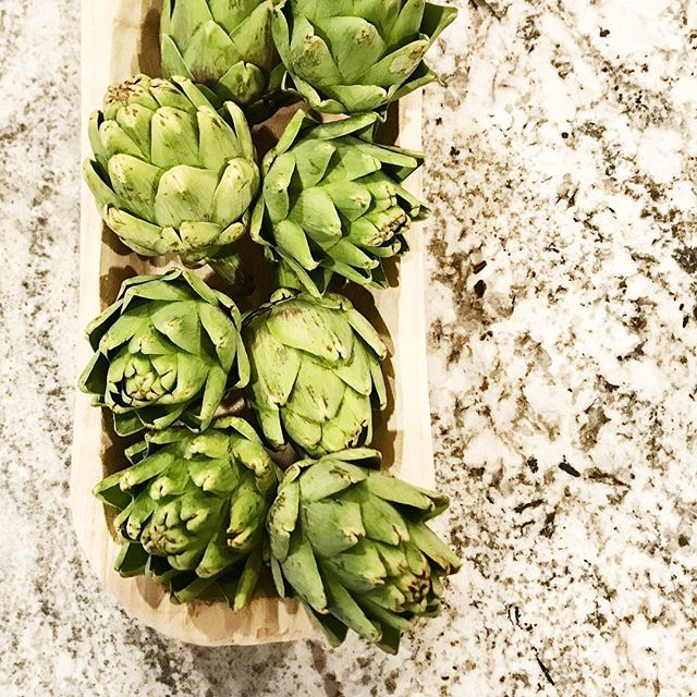 When food becomes a great styled shot and that perfect hit of green to bring things to life! #itsinthedetails #yum #texture #keds #charmcity #designer #styling #getit #artichoke #green #interiordesigner