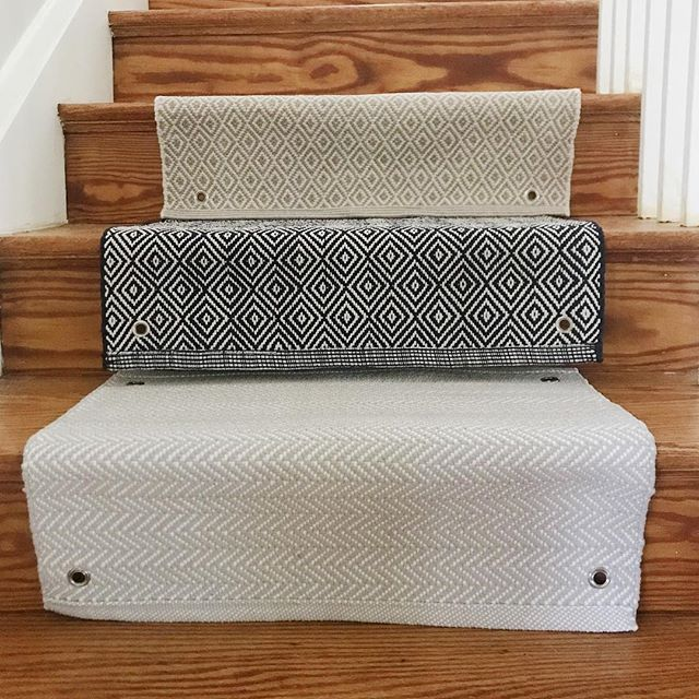 Looking forward to getting this installed! Remember I asked you all to weigh in a while ago? Well we're just waiting for the order to come in! Super excited. @annieselke #stairrunner #stairs #carpet #annieselke #dashandalbert #baltimorecounty #projects #interiordesign #itsinthedetails