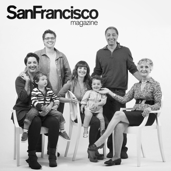 San Francisco Magazine: Modern Family Gifting