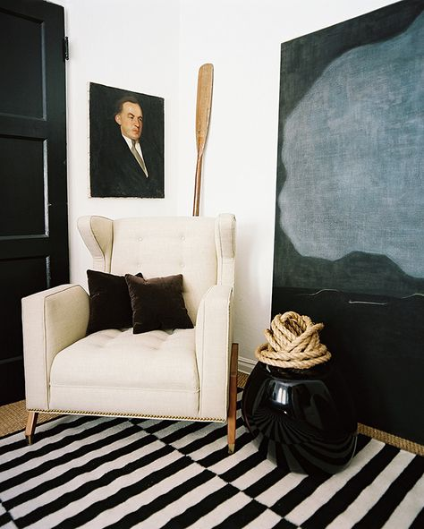 Adam Straus's Moody Masculine Apartment via