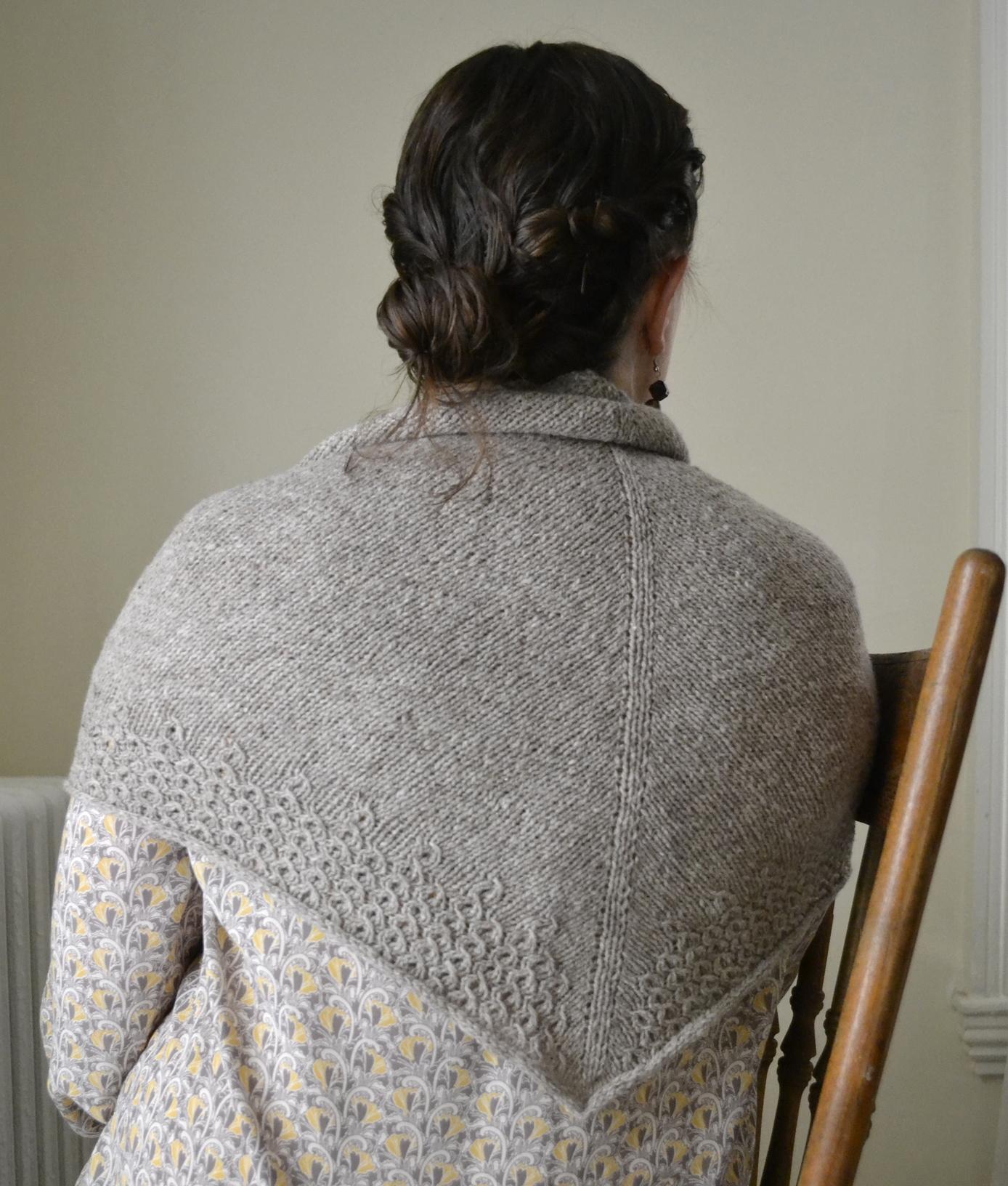 Lieselotte Shawl Free Pattern Thread Ladle