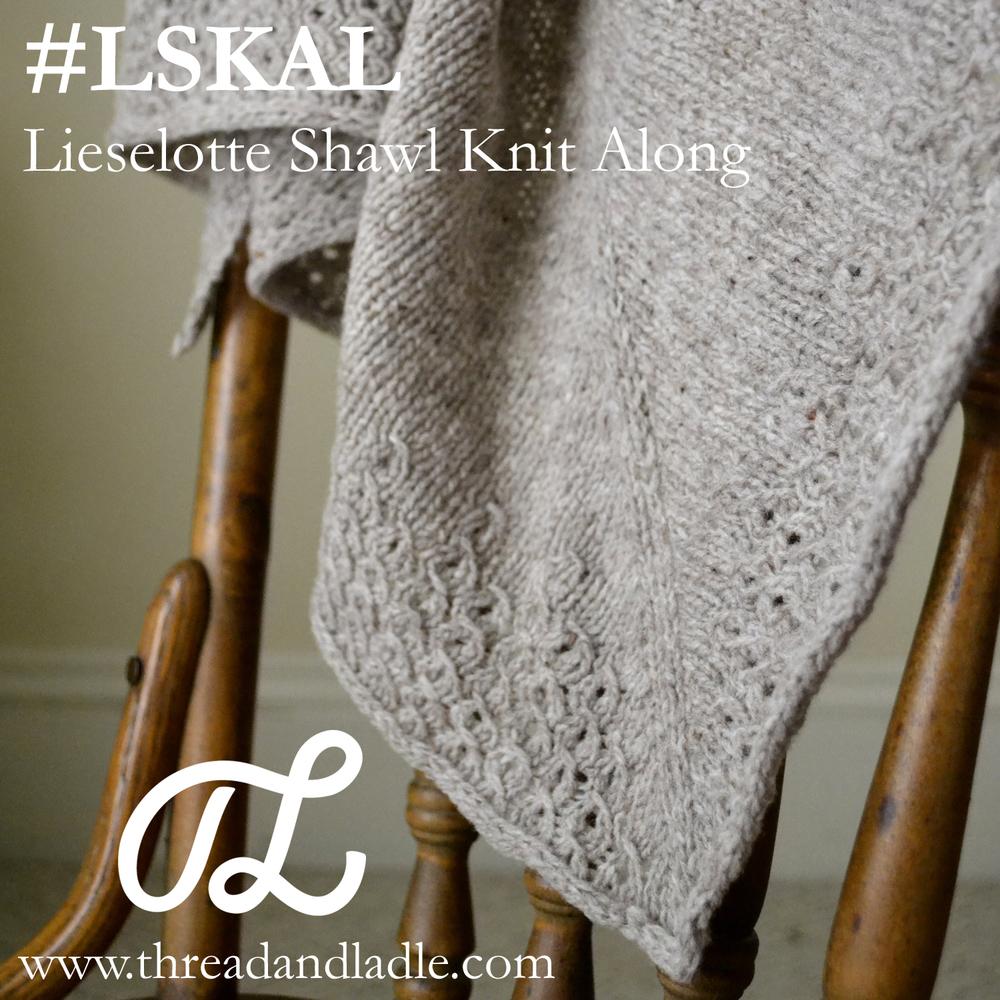Lieselotte Shawl (Free) Pattern — Thread & Ladle