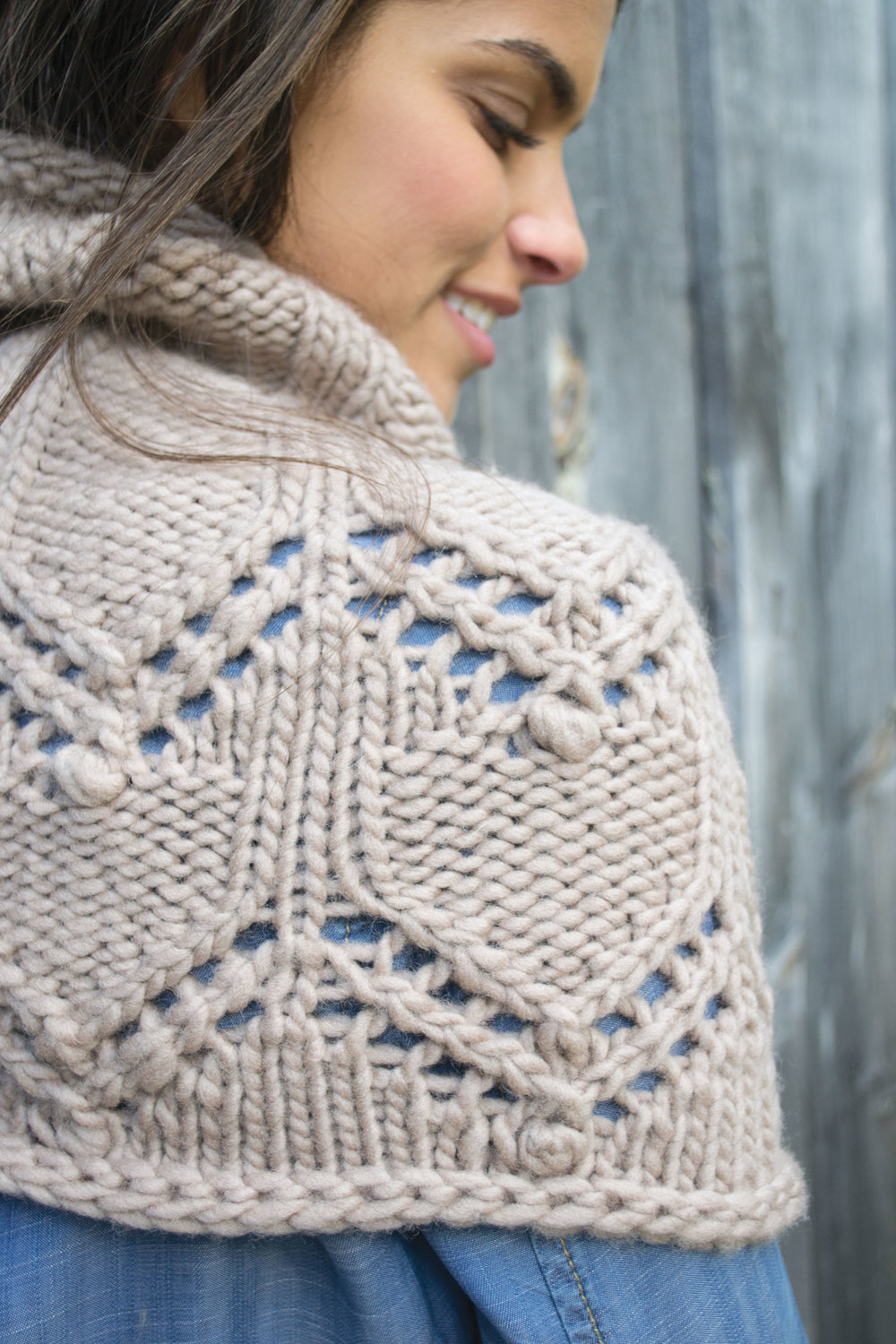 MAINE knits Pattern Spotlight: Astrantia Cowl — Thread & Ladle
