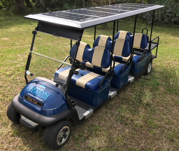 Custom Solar Roofs — Solar EV Systems - Solar Golf Carts, Roof, Tops on golf cart light kits, golf cart trunk kits, golf cart dashboard kits, golf cart horn kits, golf cart frame kits, golf cart building kits, golf cart dump bed kits, golf cart windshield kits, golf cart carpet kits, golf cart speedometer kits, golf cart garage kits, golf cart speaker kits, golf cart dash kits, golf cart seat belt kits, golf cart canopy kits,