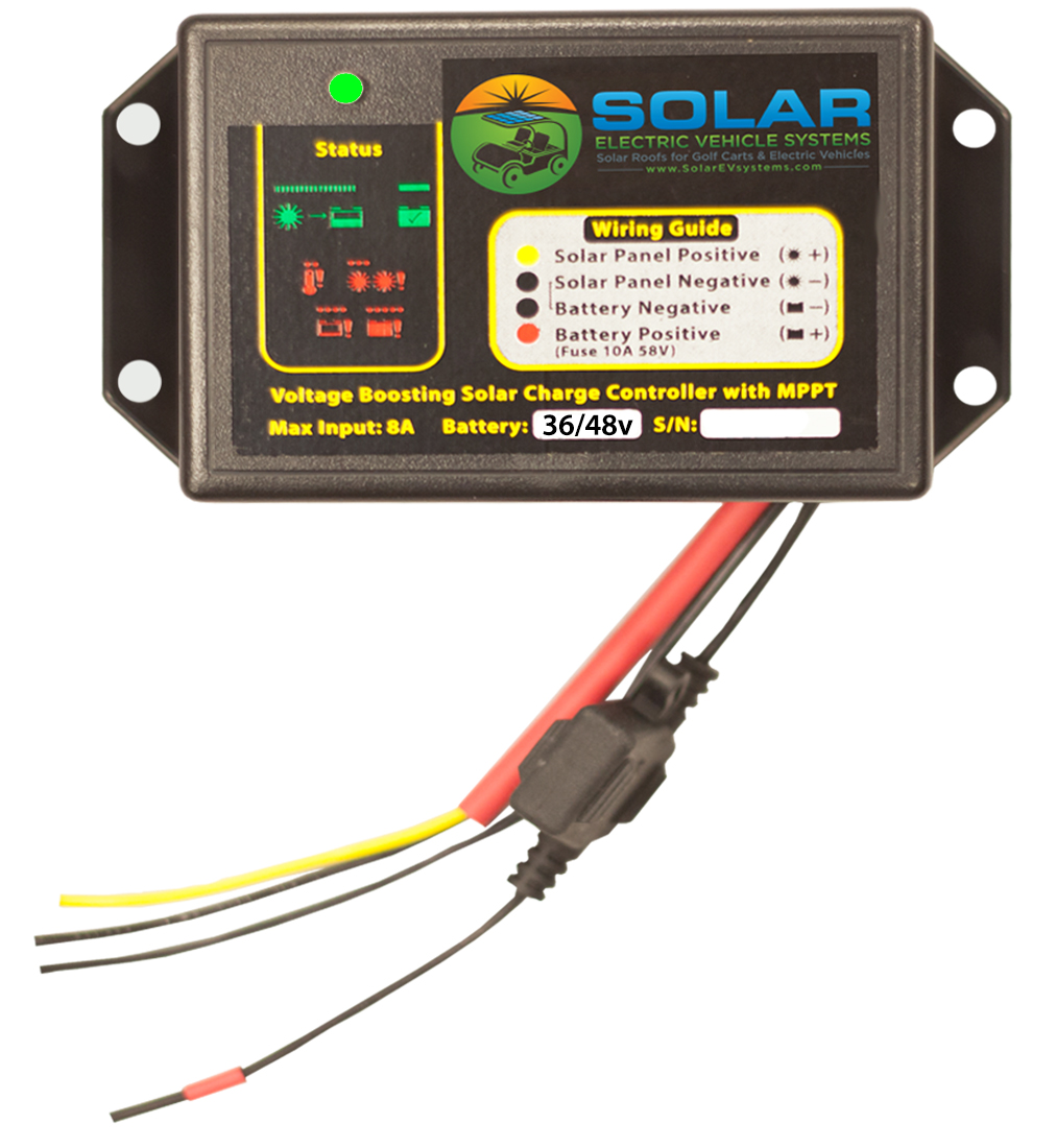 Mppt Solar Charge Controller 36v 48v Ev Systems Panel Battery Charger Circuit On Diy Wiring Golf Carts Roof Tops Lsv Cart Kit For Ezgo Club Car Star Yamaha Bad Boy