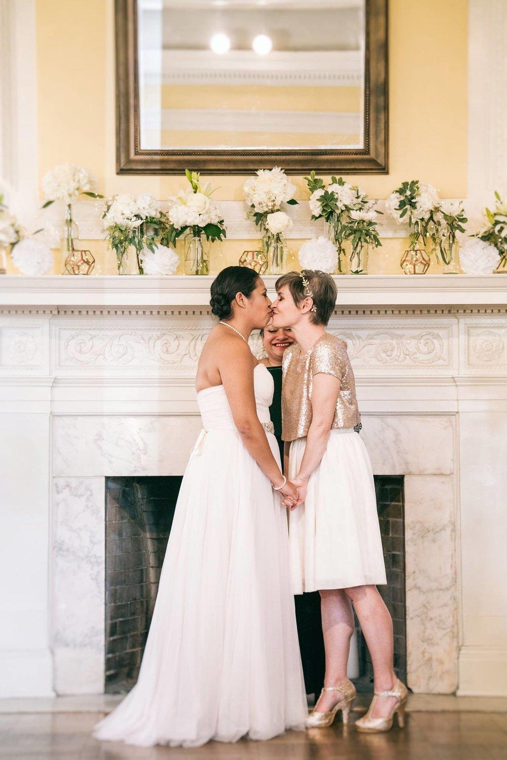 modern same sex glitter gold washington dc wedding (5).jpg