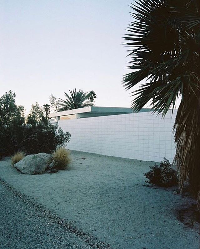 Desert modernism, California. 2017. Via @cleogoossens #sundayspaces 🕷