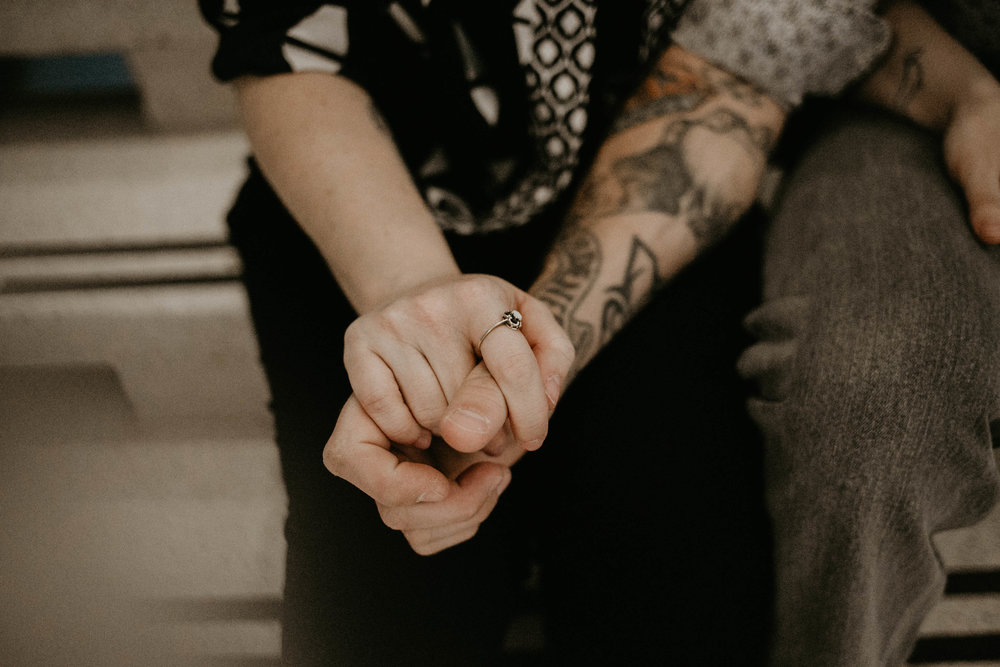Best Wedding Photographer in Lubbock, Texas | Kailee Ann Photography | Unique Engagement Shoot