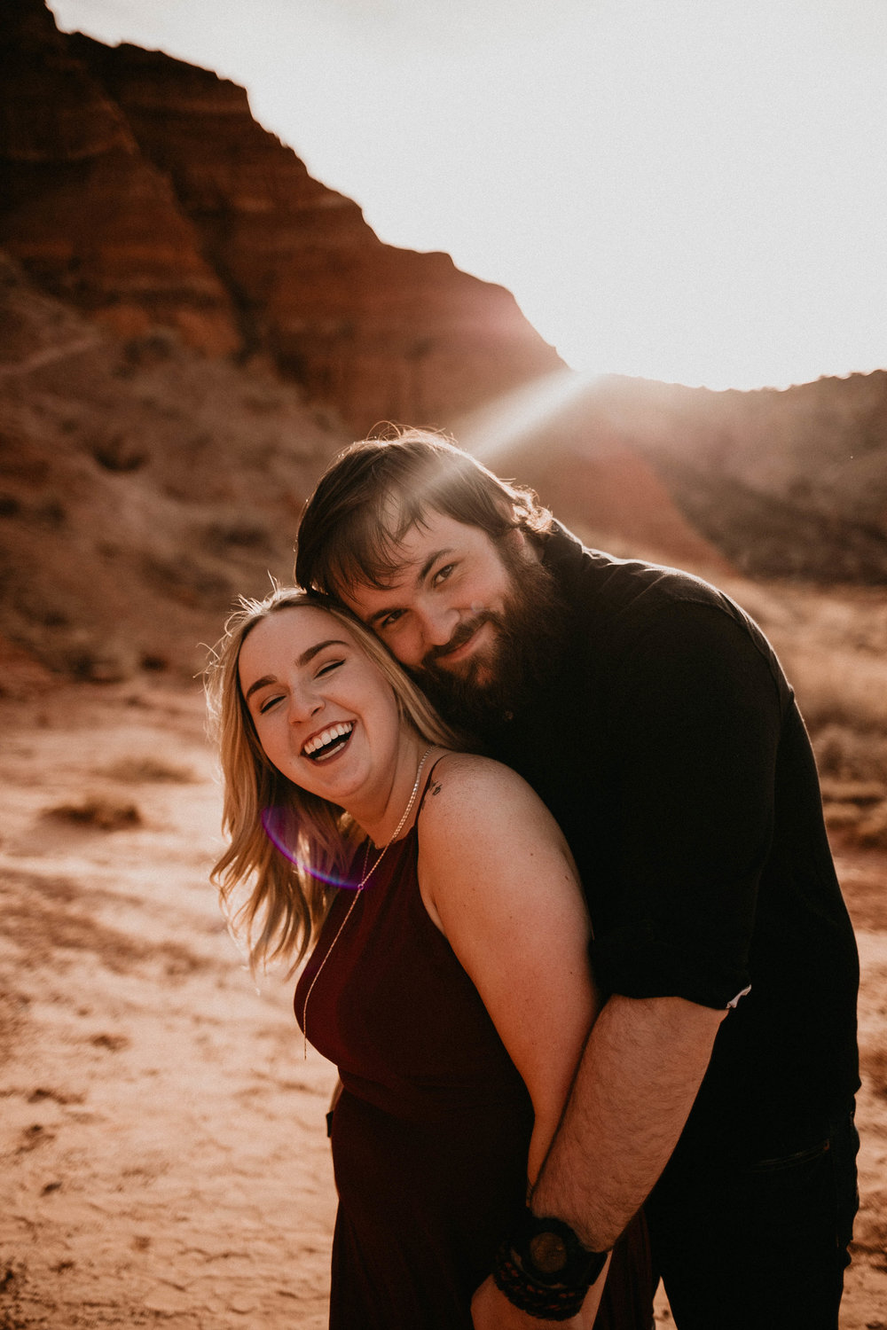Kailee Ann Photography | Best Wedding Photographer in Lubbock | Adventurous Palo Duro Canyon Engagement Photos
