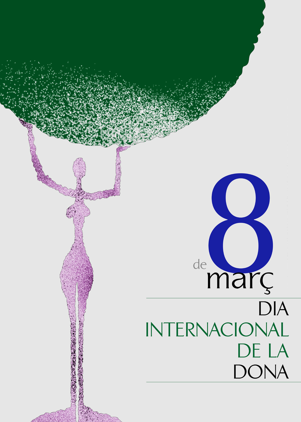 Cartel '8 de Març, Dia de la Dona'