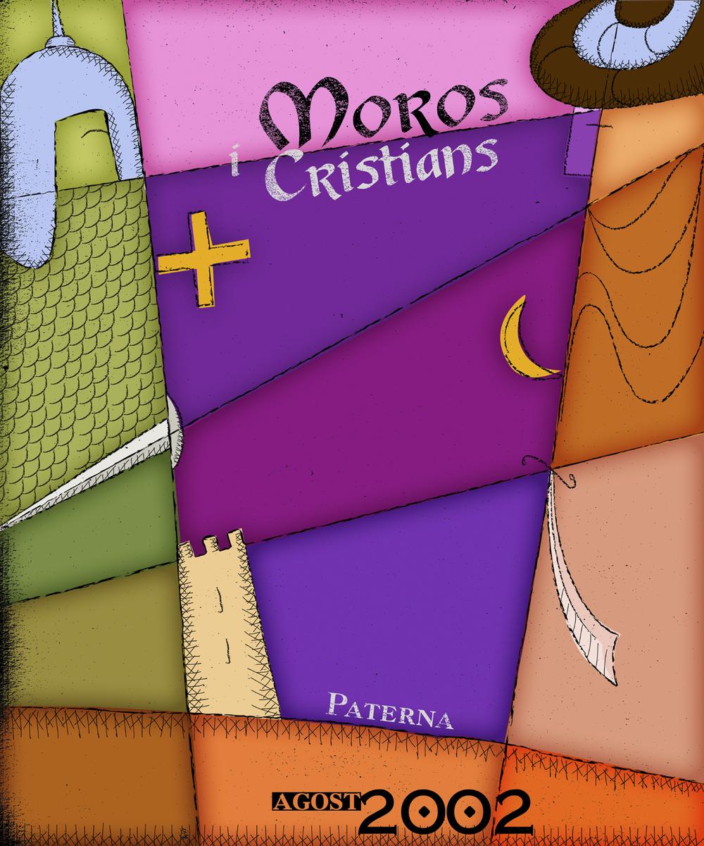 Cartel Moros y Cristianos