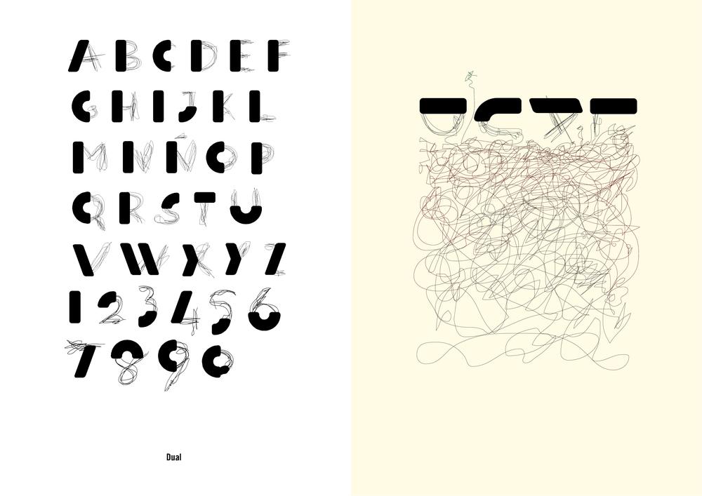 Tipografía Dual y aplicación, Exposición y Catálogo 'Vaya Tipos! 2' de la Asociación de Diseñadores de la Comunidad Valenciana (ADCV), 2005