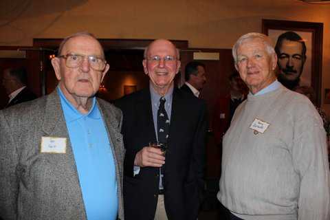 Pat Hart, Fred Vickey and Harry Zatkoff