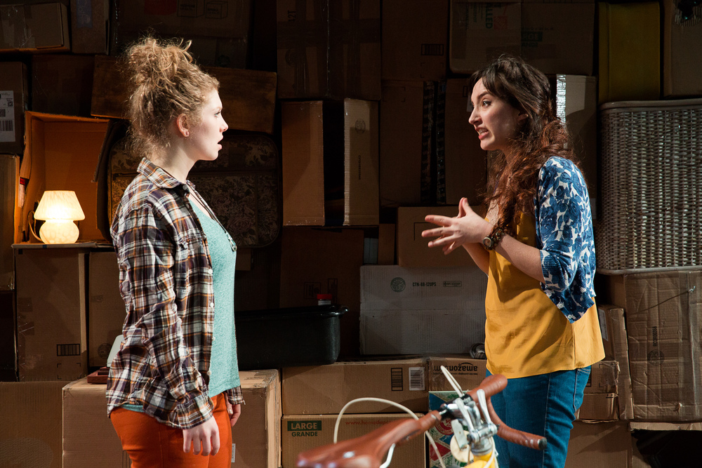 The Spider & The Wasp,  The New School for Drama, photo: Scott Wynn