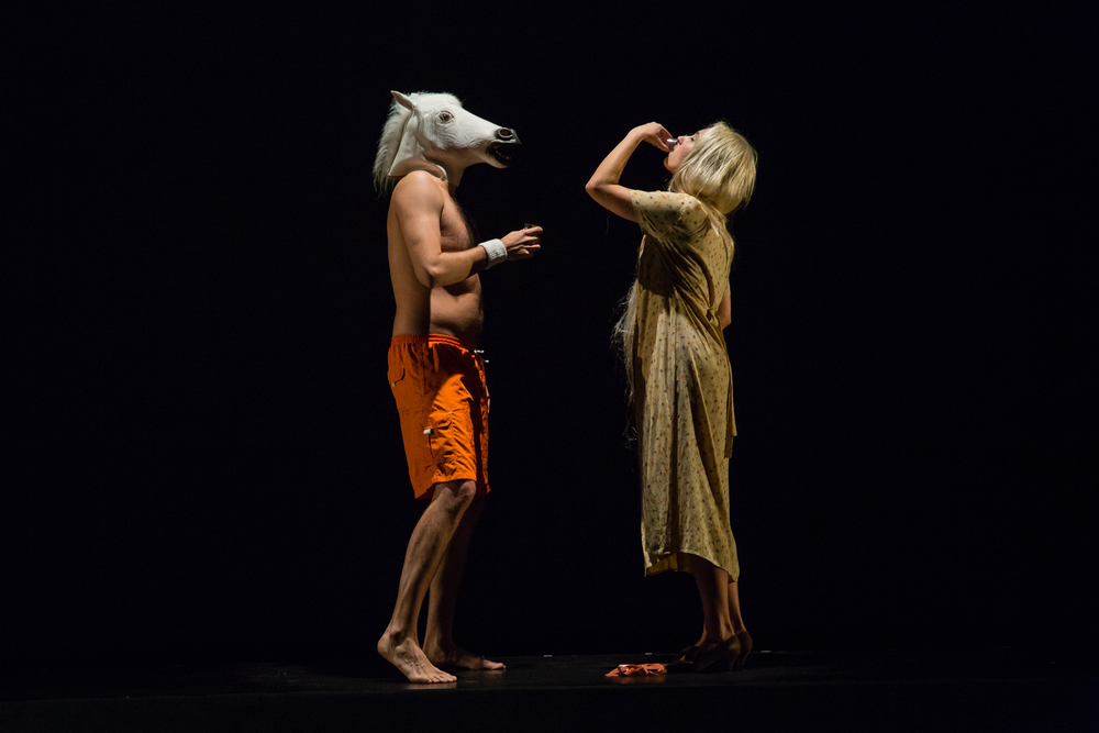 The Skriker , The New School for Drama, photo: Scott Wynn