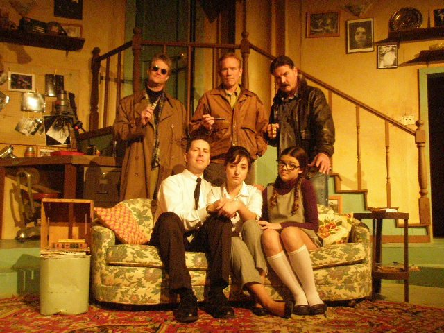 Wait Until Dark,  Ferndale Repertory, photo: Ginger Gene