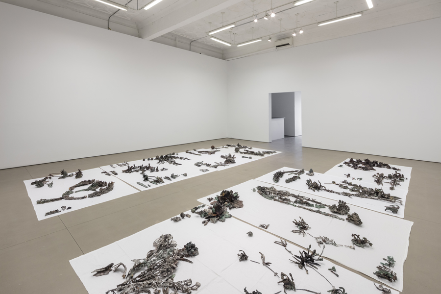 Abbas Akhavan,  Study for a Monument , installation view