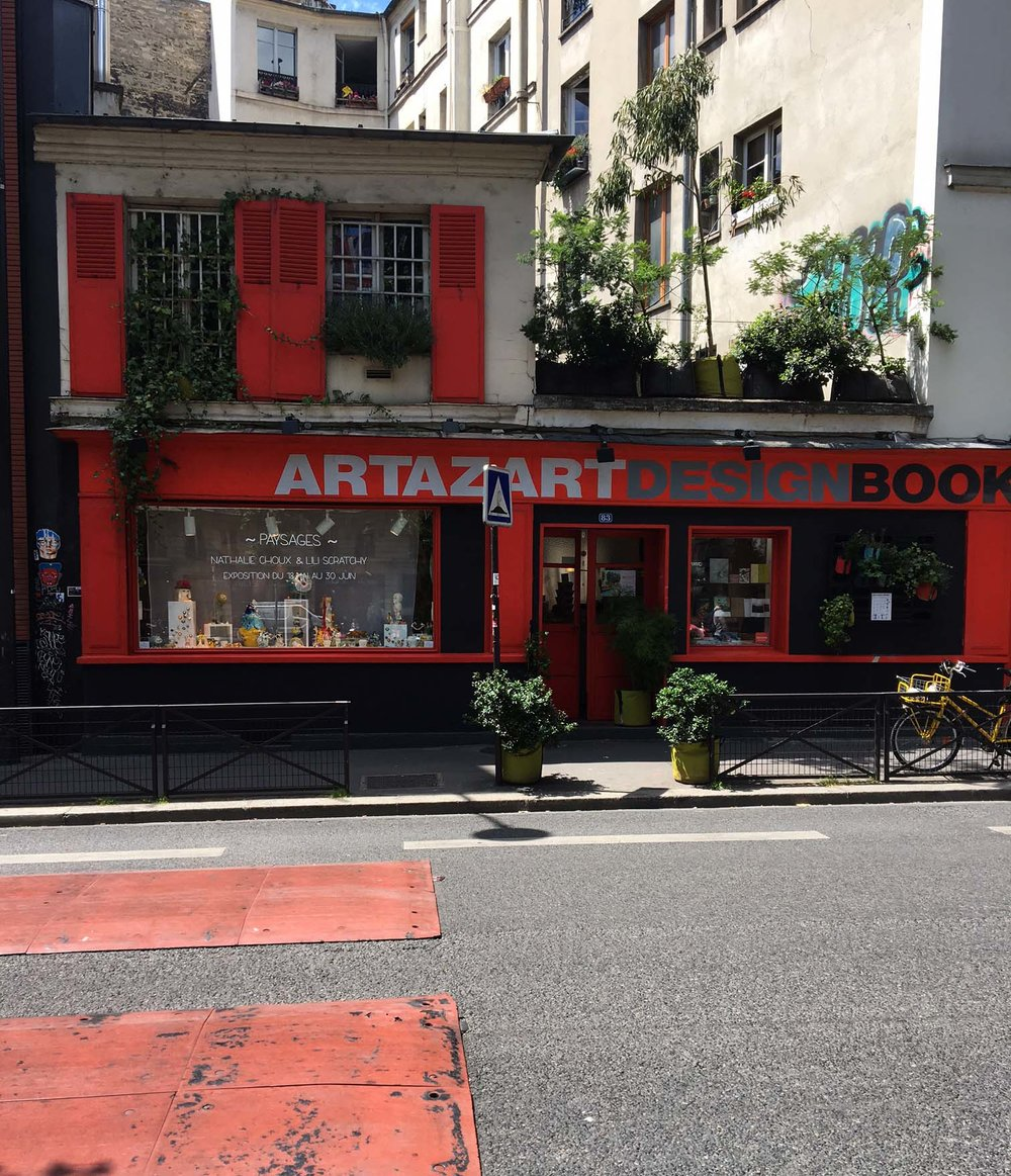 Artazart Design Bookstore