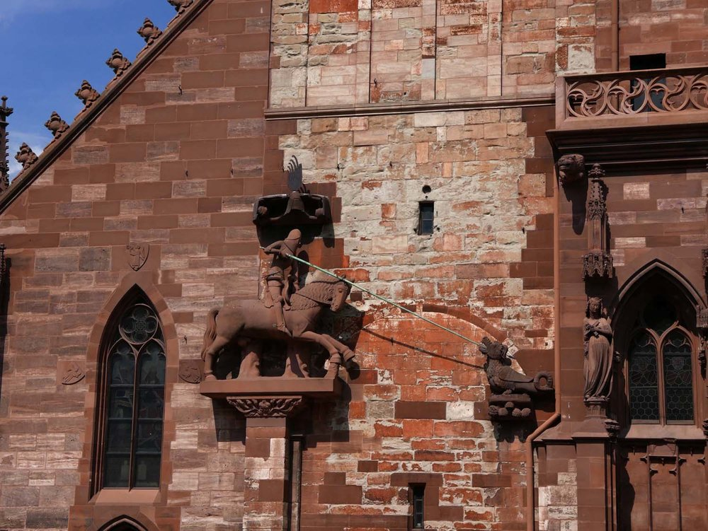 detail, Basler Münster