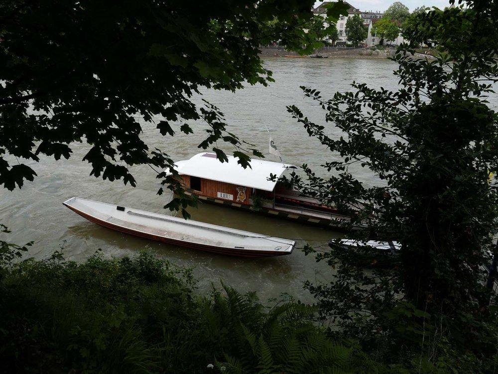 The Rhein ferry