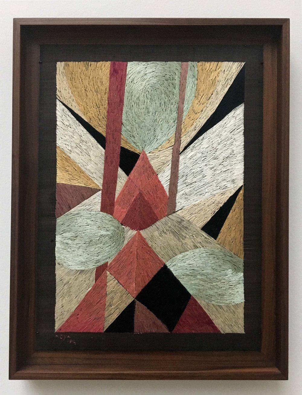 Adya van Rees, Embroidery, 1914