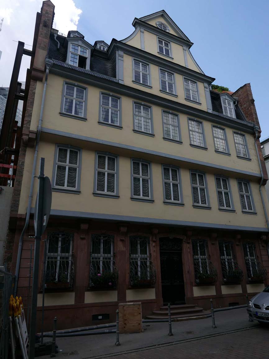 Goethe's Haus (where he was born)