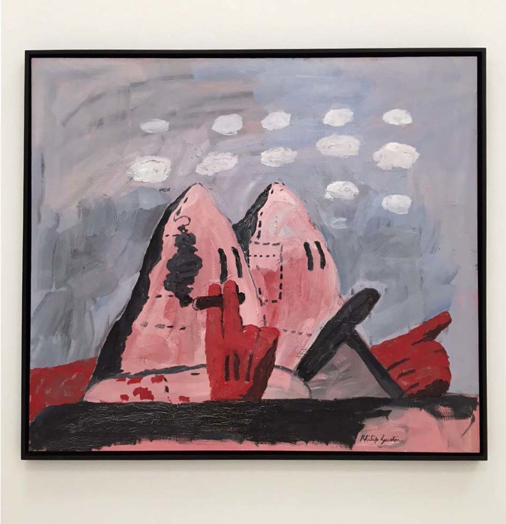 Philip Guston, Ride, 1969