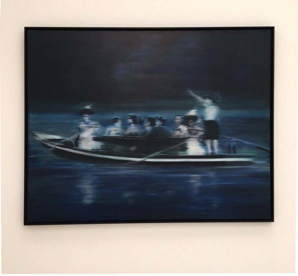 Gerhard Richter, Boat Trip, 1965