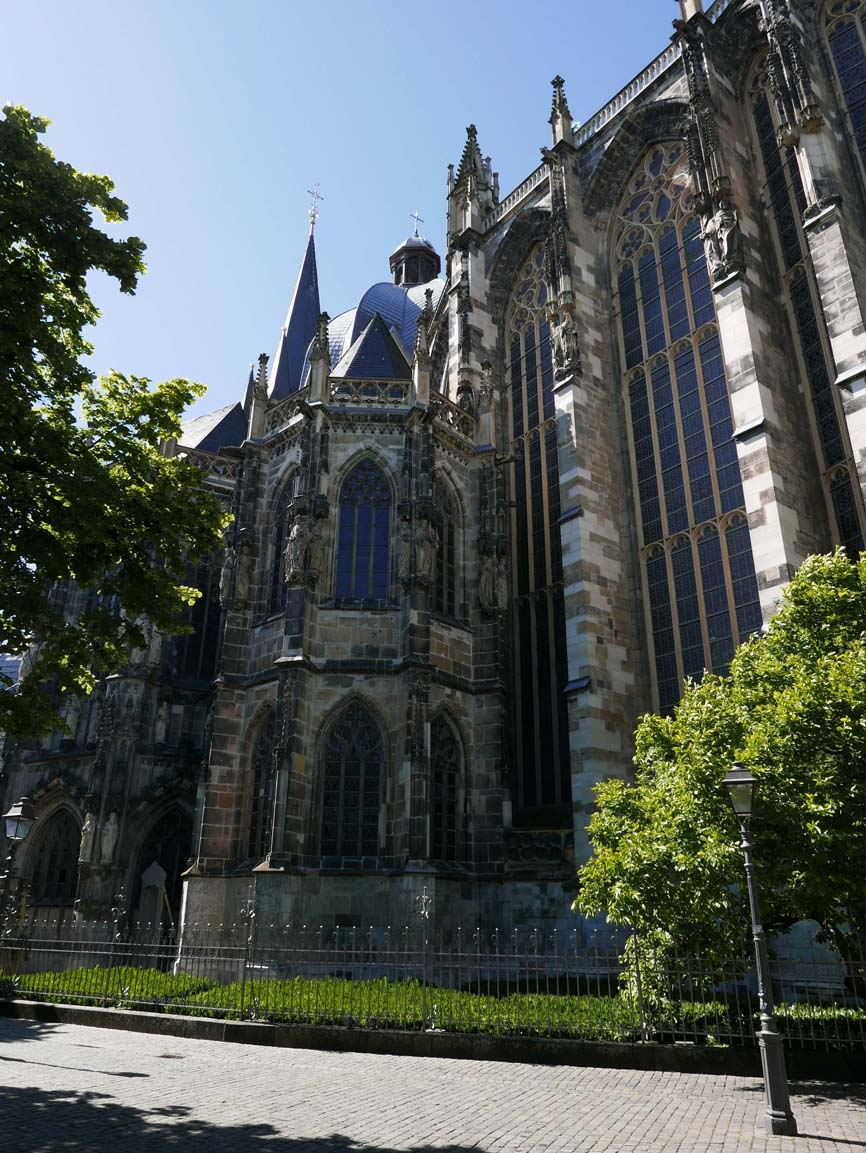 the back of the Aachener Dom