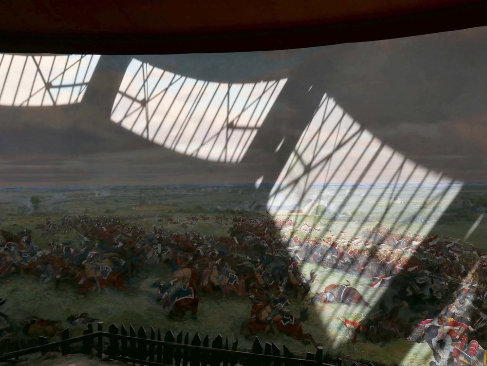 inside the Panorama depicting the battle