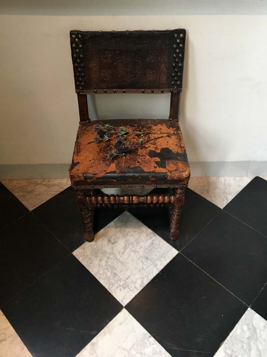 chair portrait: rembrandt's house