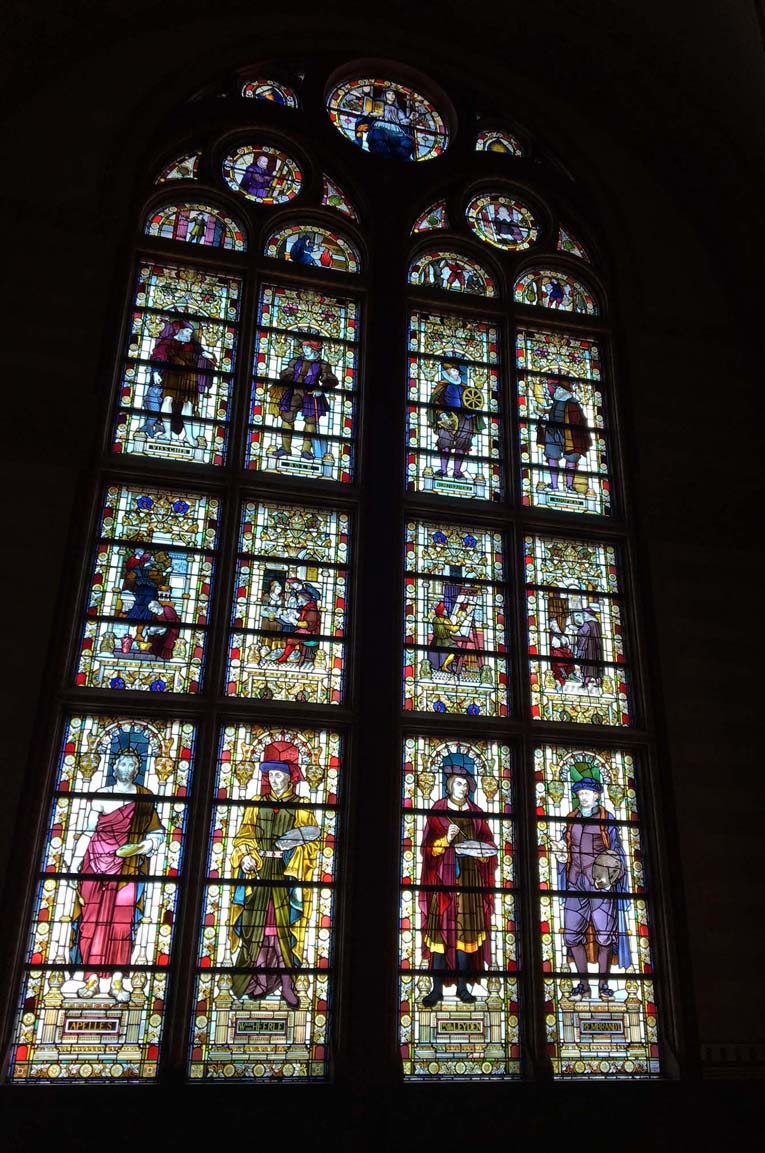 window in the Rijks Museum