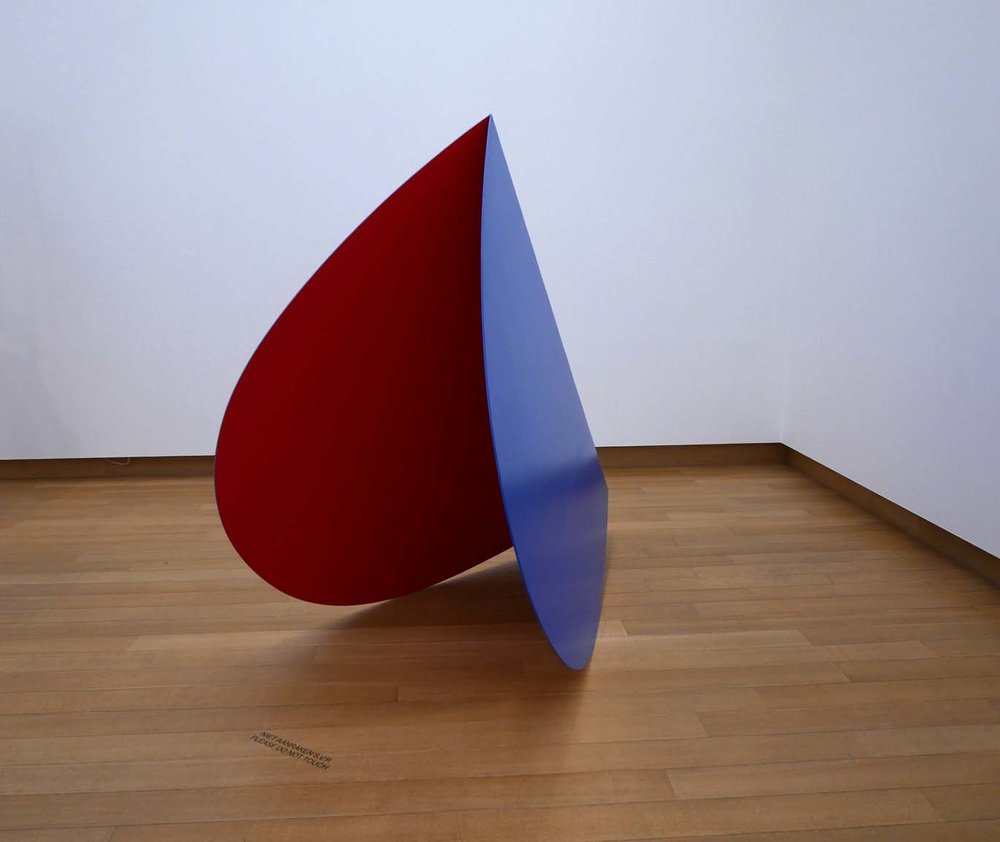 Ellsworth Kelly, Blue Red Rocker, 1963