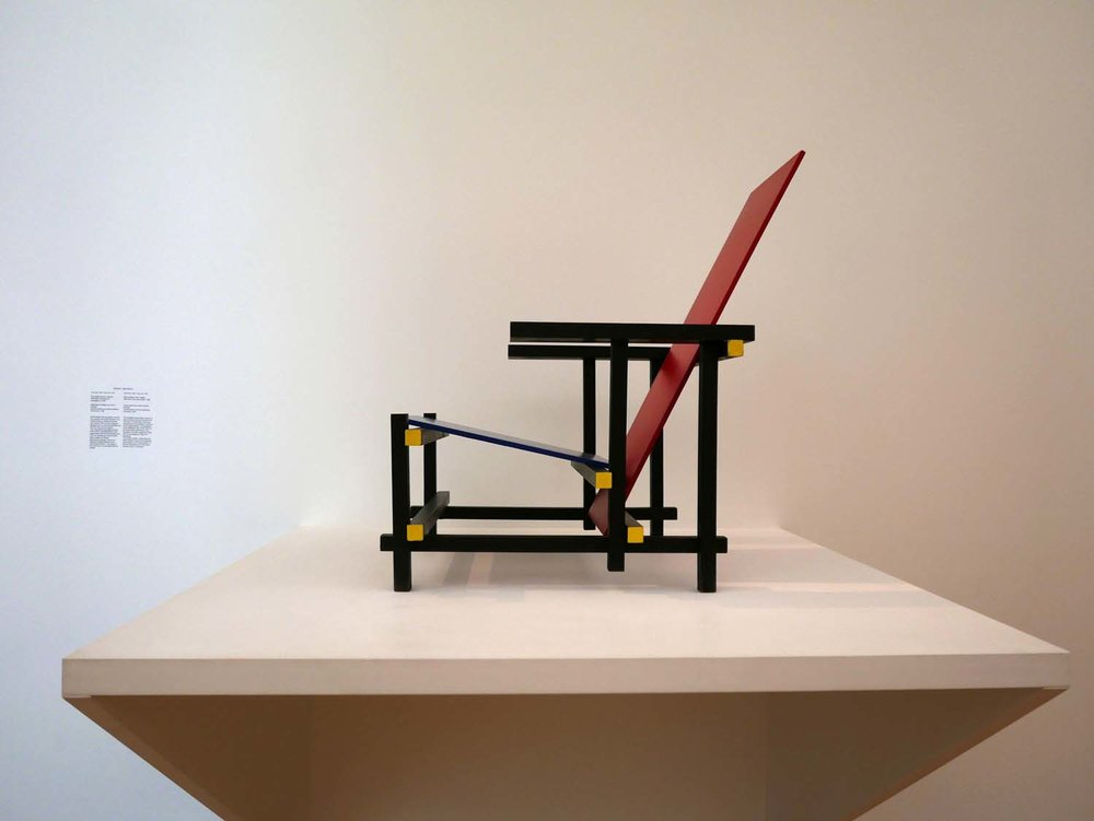Gerrit Rietveld, Red Blue Chair